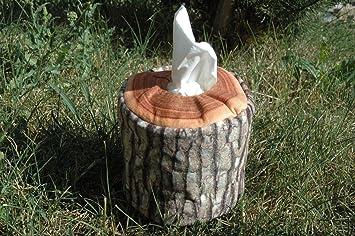 Kosmetiktuch Behälter Oder Wattepads Holzstamm Oder Holz Dekoration