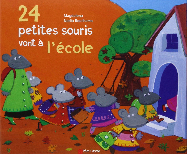 """Résultat de recherche d'images pour """"24 petites souris vont à l'école"""""""