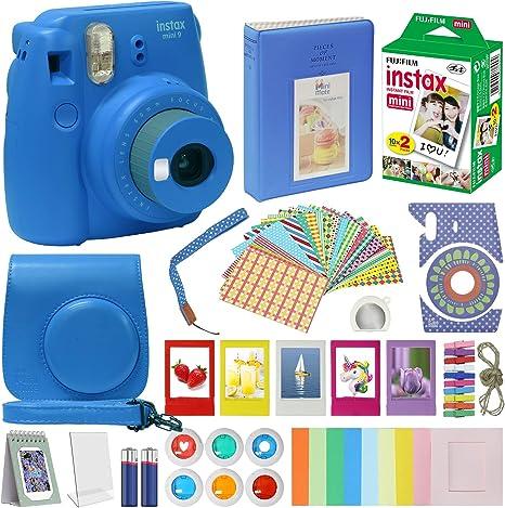 Fujifilm Instax Mini 9 Kit de accesorios para cámara para niños ...