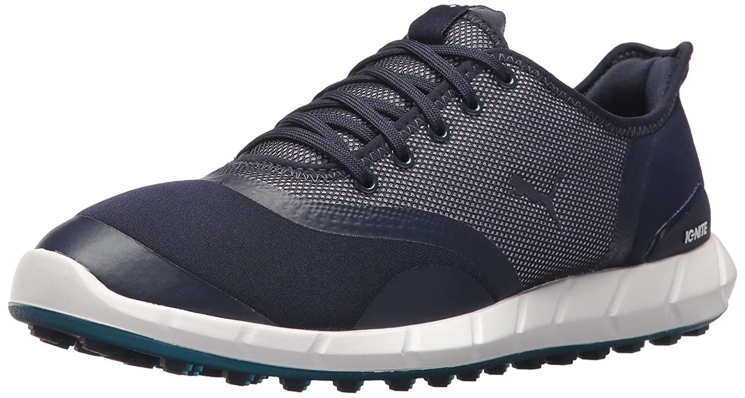 PUMA Women's Ignite Statement Low Golf Shoe B075X41N7B 9.5 B(M) US|Peacoat/Aquarius