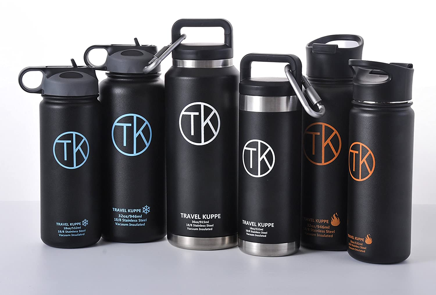 Exceptional Amazon.com : TK Fire (18 Oz) Stainless Steel Bottle Vacuum Insulated Travel  Mug With Sip Lid   Keeps Hot U0026 Cold Beverages Up To 48 Hours   Double  Walled ...