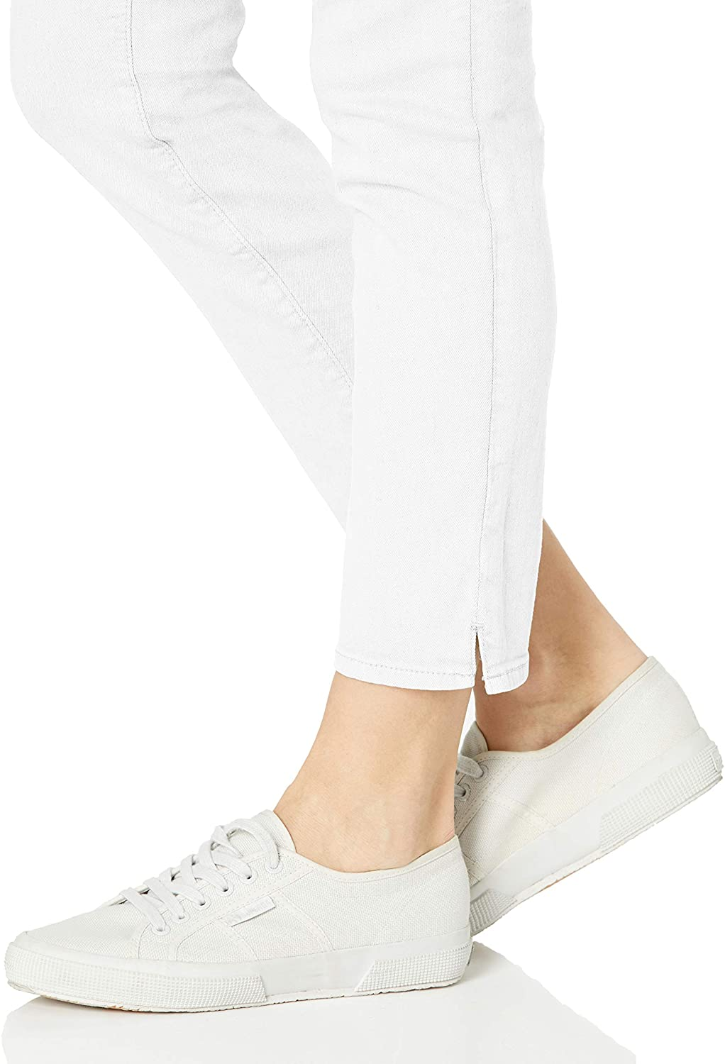 NYDJ Womens Pull on Skinny Ankle Jean with Side Slit Jeans