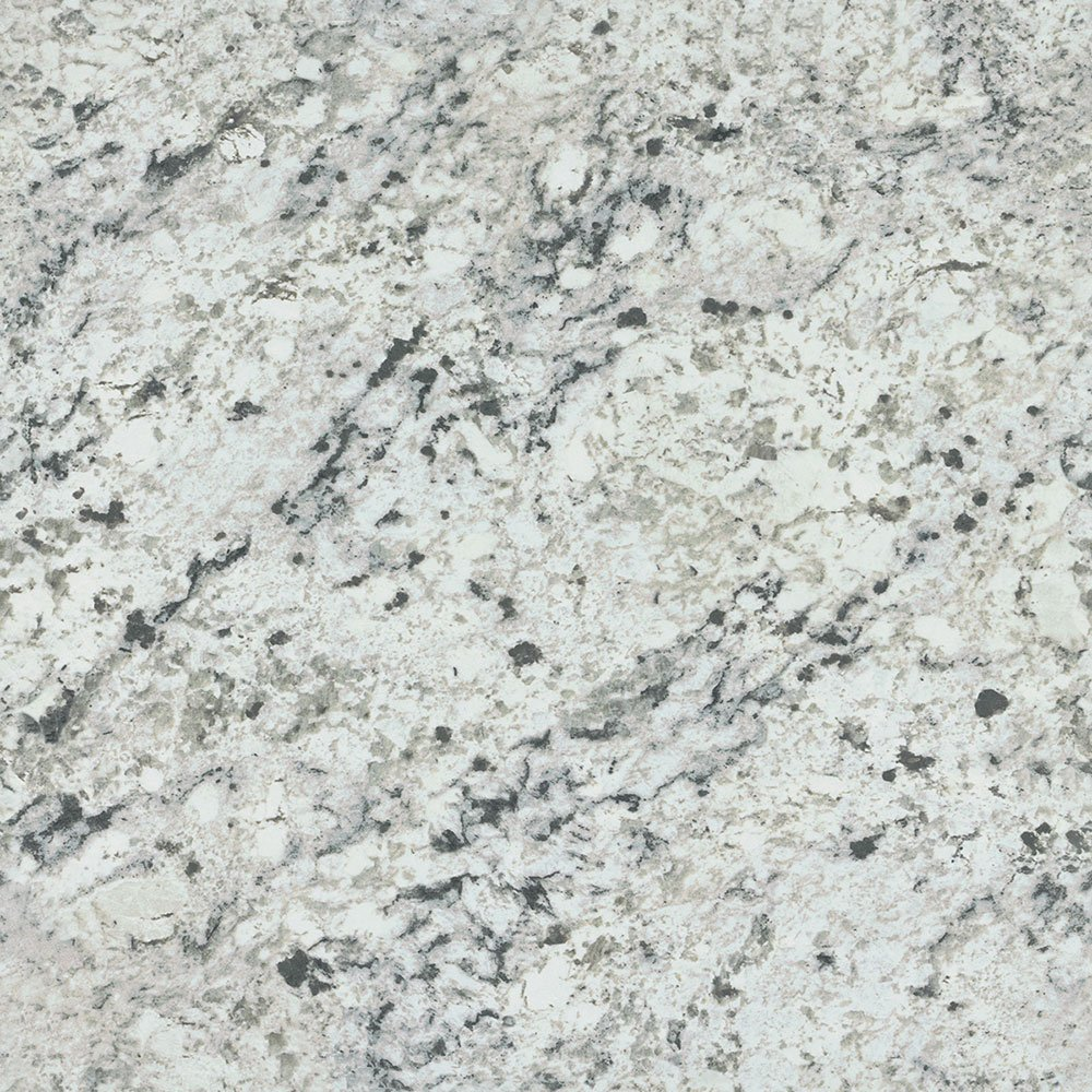 Formica Sheet Laminate 5 x 12: White Ice Granite (Etchings) by Formica