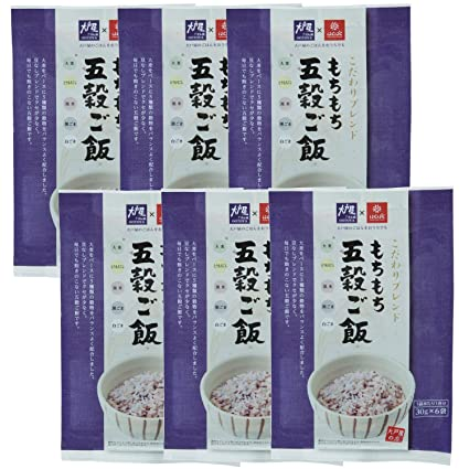 Hakubaku Oto shop glutinoso arroz cinco granos 6.35 oz ~ 6 ...