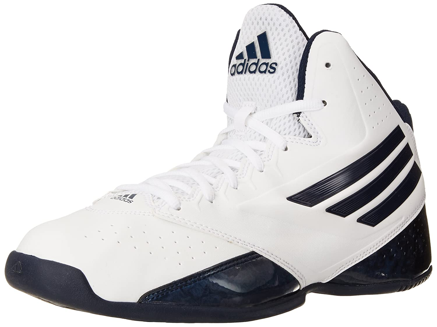 adidas Performance Men's 3 Series 2014 Basketball Shoe White/navy 12 D(M)  US: Buy Online at Low Prices in India - Amazon.in