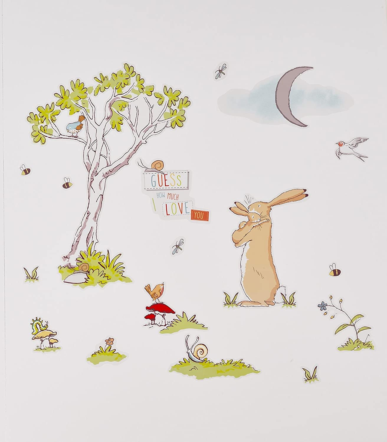 Guess How Much I Love You Themed Room Wall Sticker Set Suncrest Trading Limited SCGHMILYTRS