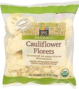 365 Everyday Value, Organic Cauliflower Florets, 10 oz