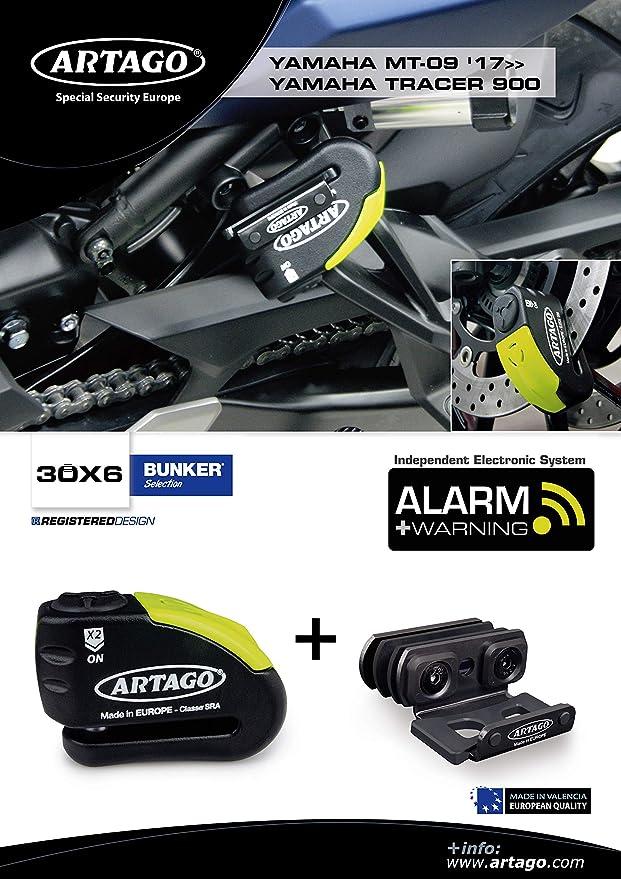 Artago 30X6 Antirrobo Disco Alarma 120db Alta Gama y Soporte ...