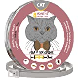 HARKY Flea And Tick Prevention For Dogs/Cats - Long-lasting Flea Prevention - Odorless, Safe And Waterproof Flea Collars - Adjustable Design Cat Collar