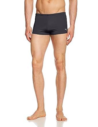 0092d28399 Puma Active Men's Swimming Shorts with Cat Logo: Amazon.co.uk: Clothing