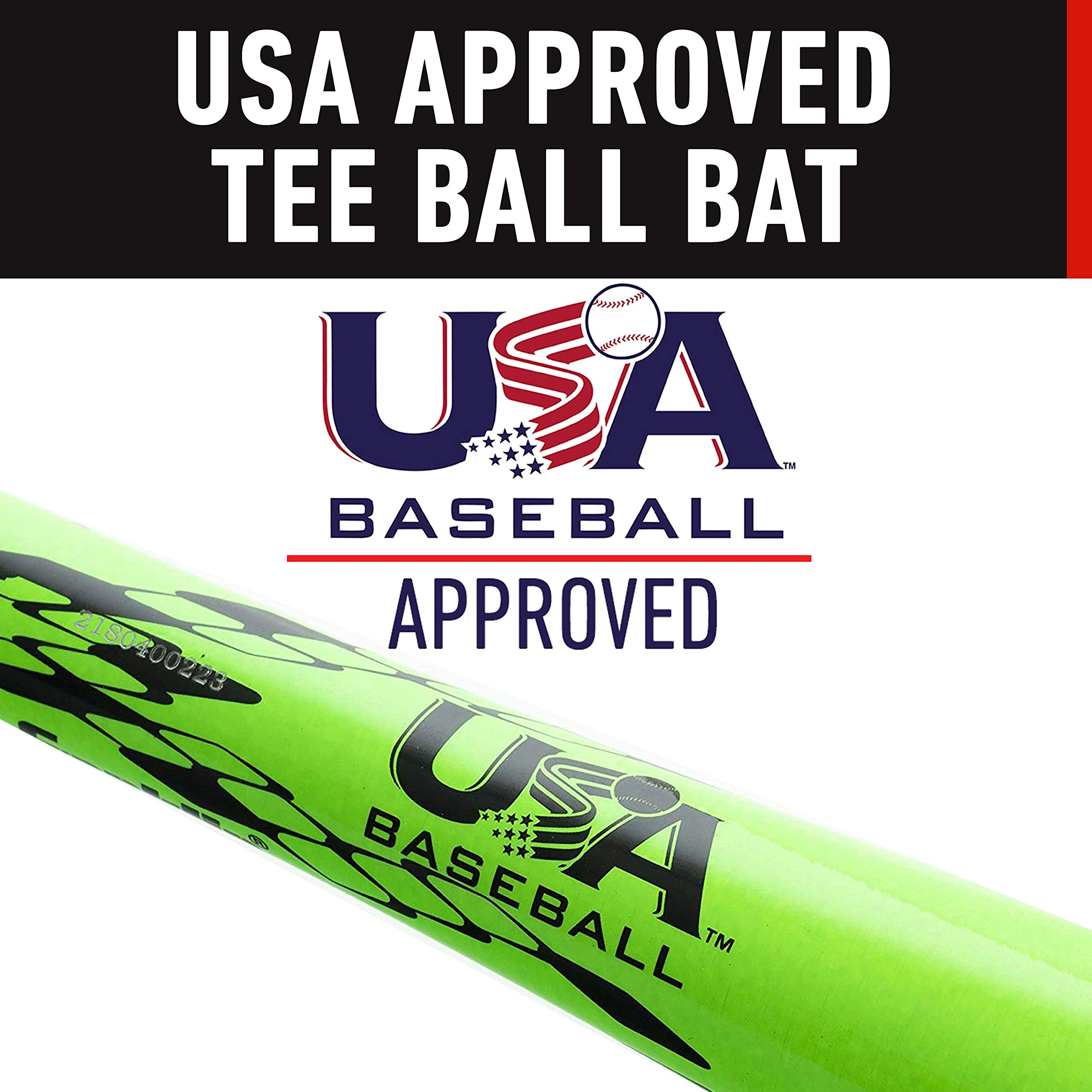 Franklin Sports Venom 1000 Official Teeball Bat - 26'' (-10) - Perfect for Youth Baseball and Teeball by Franklin Sports (Image #3)
