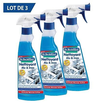 eac8bebe6fd92 Dr Beckmann Nettoyant Alu Inox 250 ml - Lot de 3  Amazon.fr ...