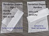 Dandelion Diapers Biodegradable and Flushable