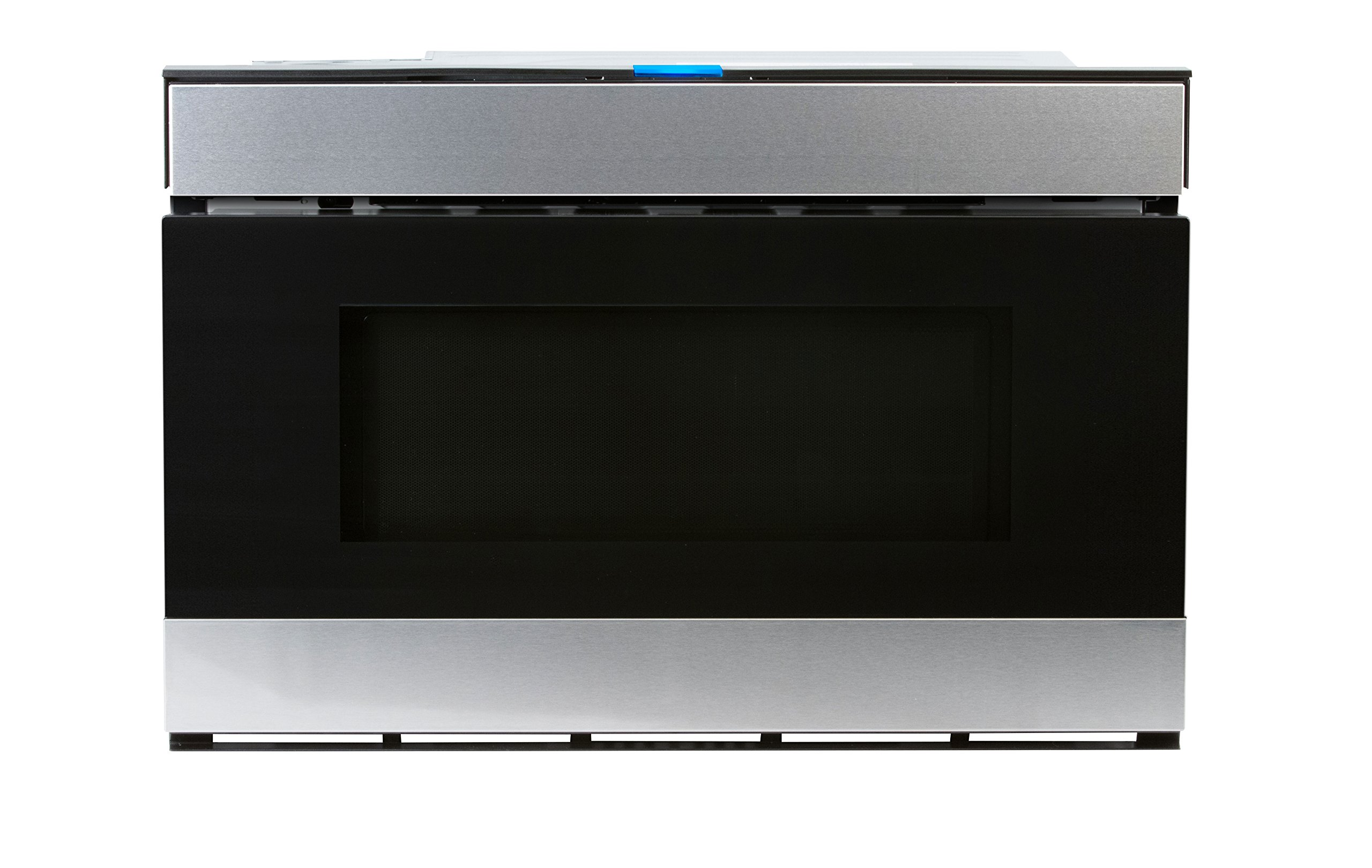 Sharp SMD2480CS 24'' Wave Microwave Drawer with 1.2 cu. ft. Capacity, Hidden Touch Glass, Motion Sensor Touch-less Access, in Stainless Steel