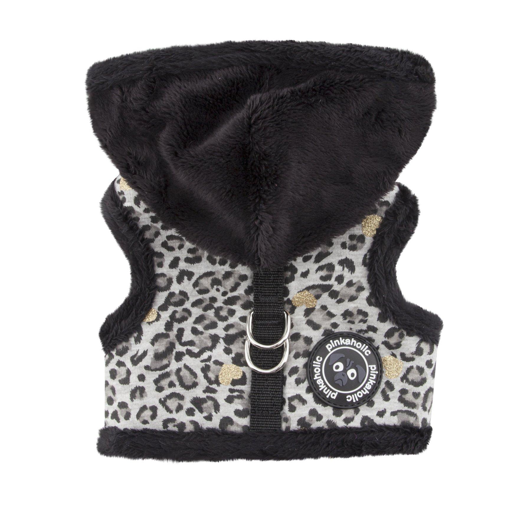 Pinkaholic New York Leo Pug Pinka Harness for Pets, Black, Large by Pinkaholic New York