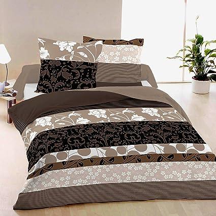ae3819dc85 Dream - SoulBedroom 100% Cotone Biancheria da letto matrimoniale ( Copripiumino 250x200 cm & 2