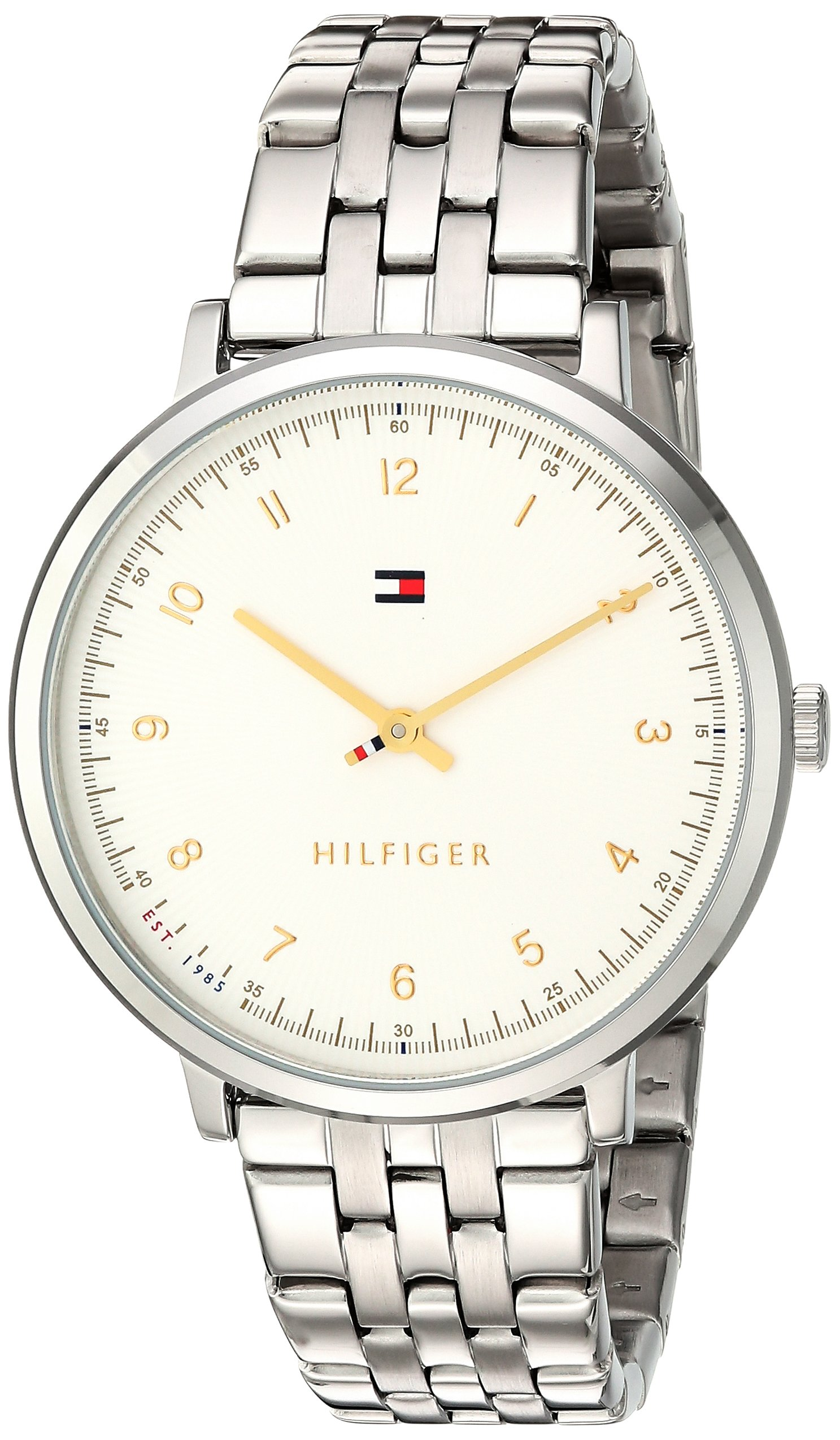 Tommy Hilfiger Women's 'SPORT' Quartz Stainless Steel Casual Watch, Color: Silver-Toned (Model: 1781762) by Tommy Hilfiger