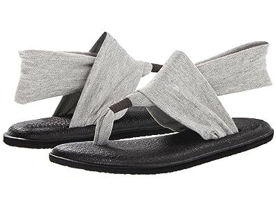 Sanuk Yoga Sling 2 Metallic Women's Sandal (7 B(M) US/38 EUR, Silver)