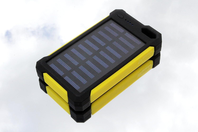 Amazon.com: Cargador solar, Solar Power Bank 30000 mAh ...