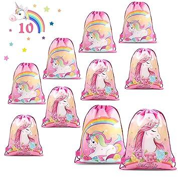 Amazon.com: Phogary - 10 bolsas con cordón para niños, con ...