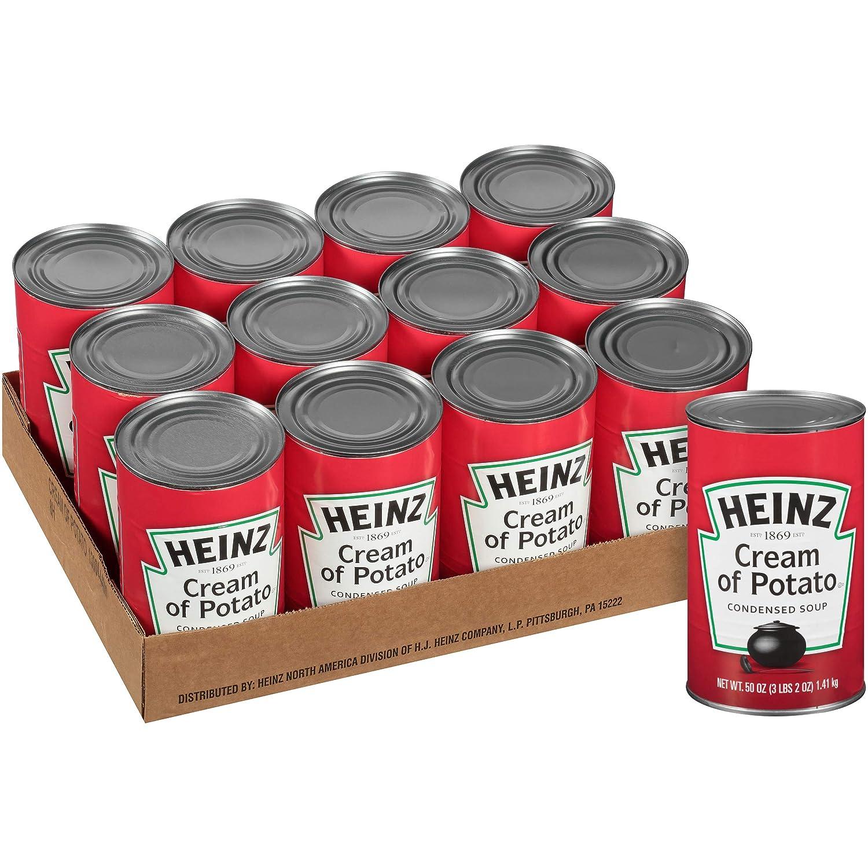 Amazon.com : Heinz Cream of Potato Soup, 50 Ounce (Pack of 12) : Potatoes Produce : Grocery & Gourmet Food