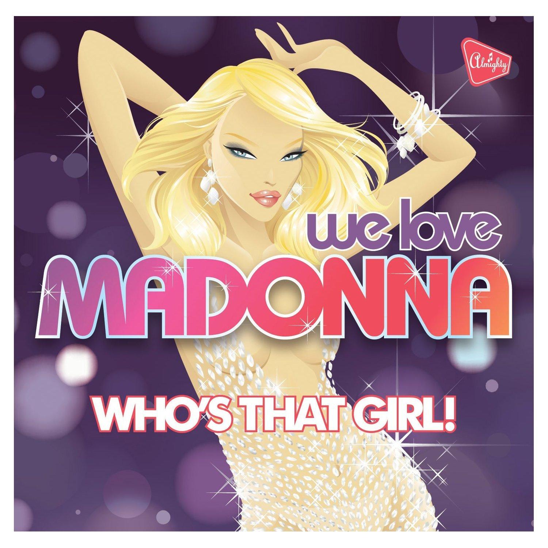 Amazon.com: We Love Madonna (5025799050819): Various Artists ...