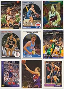 Danny Ainge / 25 Different Basketball Cards featuring Danny Ainge
