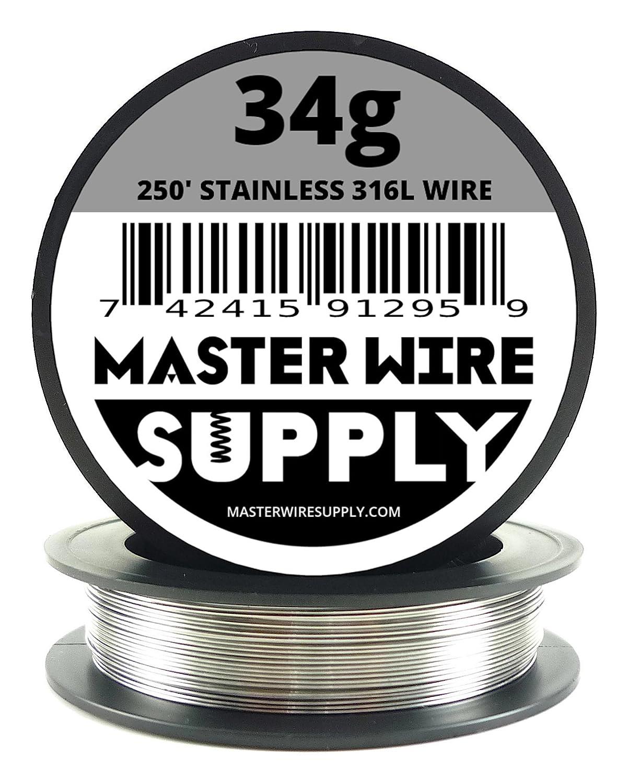 34 Gauge Stainless Steel Wire - Wiring Diagram