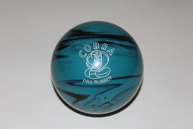 EPCO Duckpin Bowling ball- Cobra Proゴム、ティール&ブラック – Single Ball  4 3/4 inch- 3lbs. 6 oz.