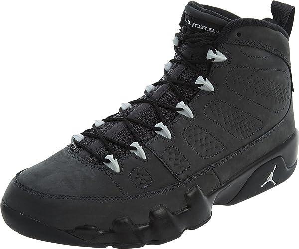 9 Retro Anthracite Basketball Shoe