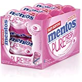 Mentos Pure Fresh Bubble Fresh Gum, 6 bouteilles