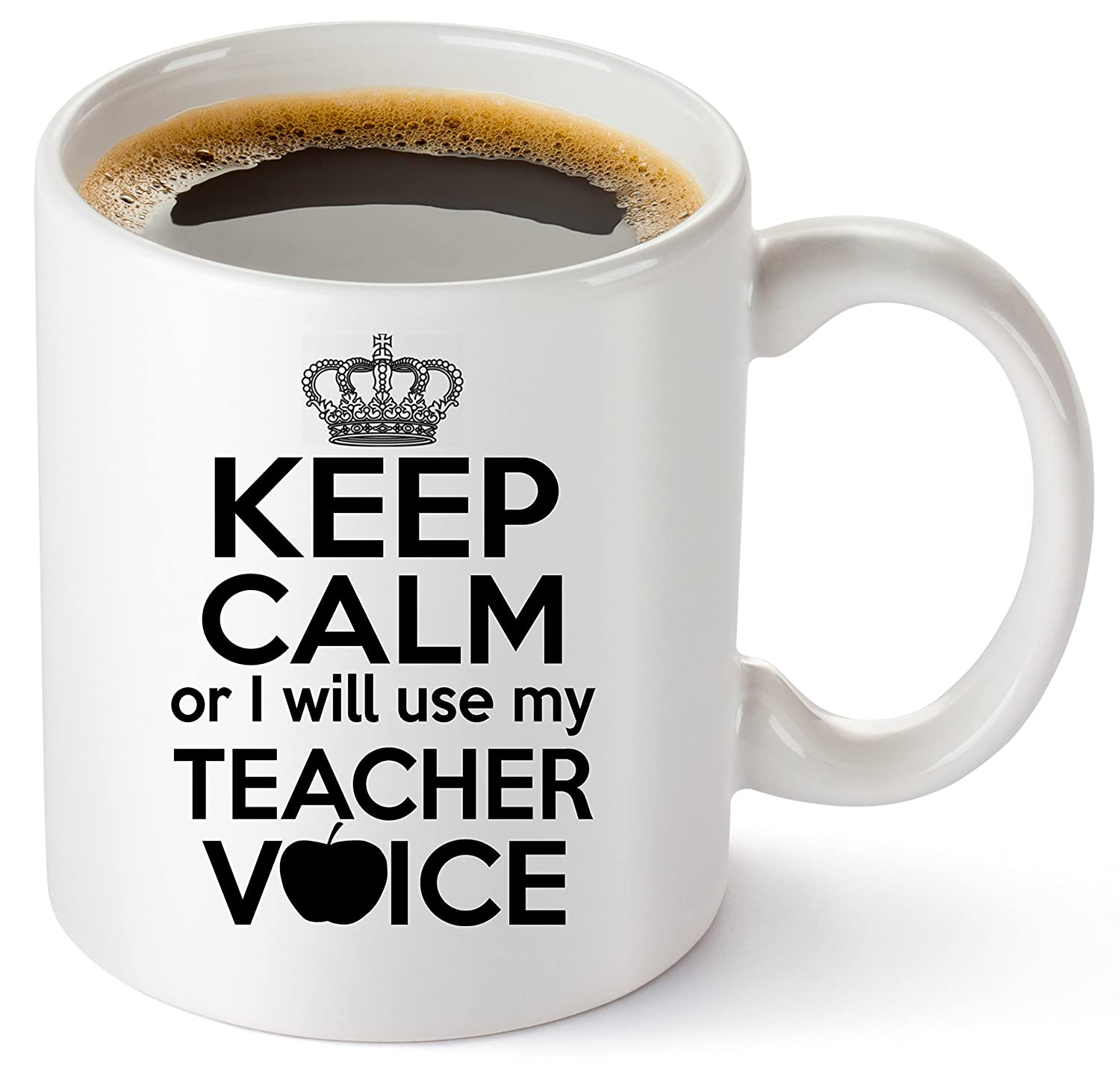 Muggies Teacher Has The Best Students Mug 11oz. Funny Coffee Tea Cup. Unique Fun Christmas, Xmas, Birthday, Classroom School Teacher Mom Wife Teacher2
