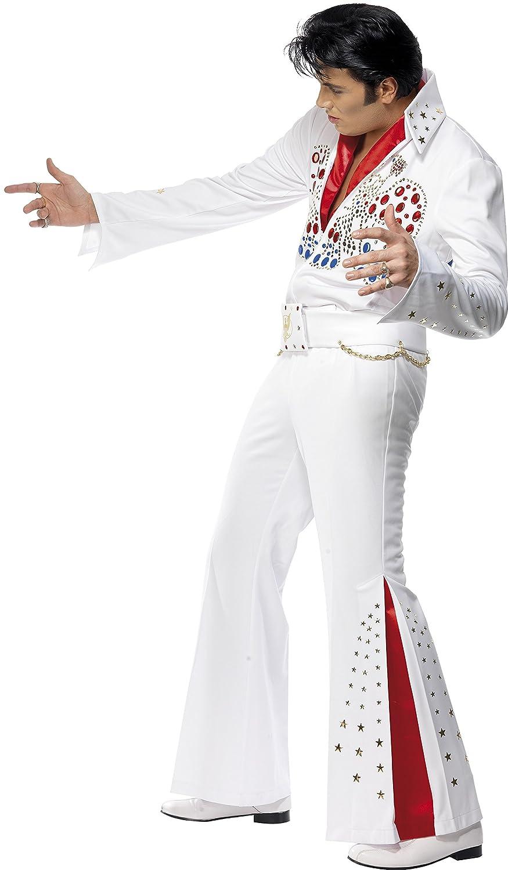 Smiffys - Disfraz de Elvis para hombre, talla única (36101M ...