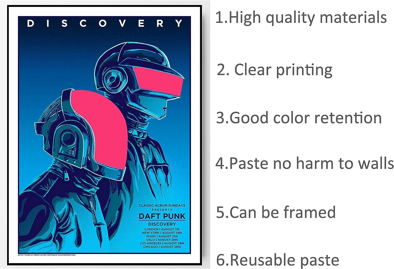 "06 Daft Punk Electronic Music Star 38/""x24/"" Poster"