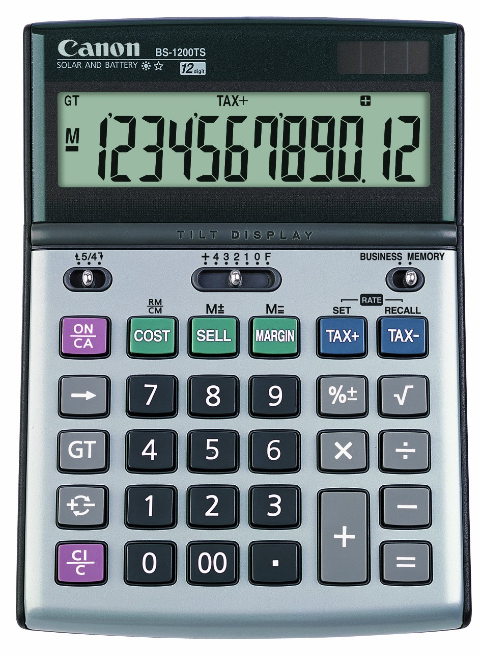 Canon Office Products BS-1200TS Business Calculator by Canon