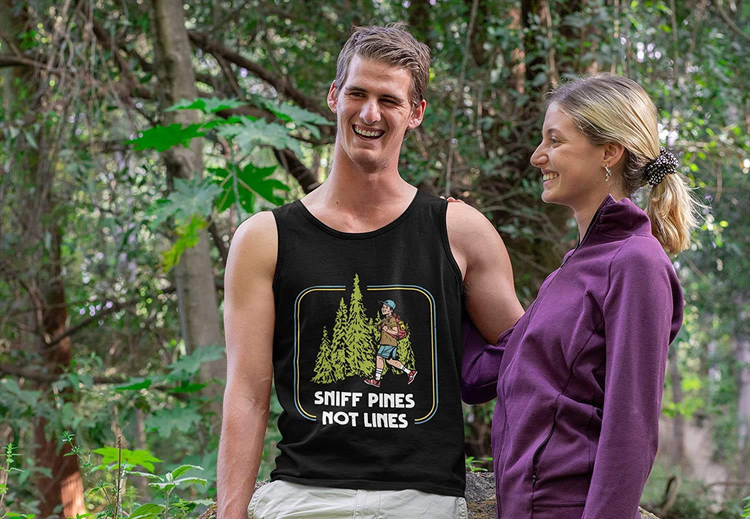Sweatshirt For Men Women Boy Scout Funny Gift For Your Friend T-Shirt Crewneck Snort Sniff Pines Not Lines Snort Lines While In The Pines Hoodie Tank Top Long Sleeve