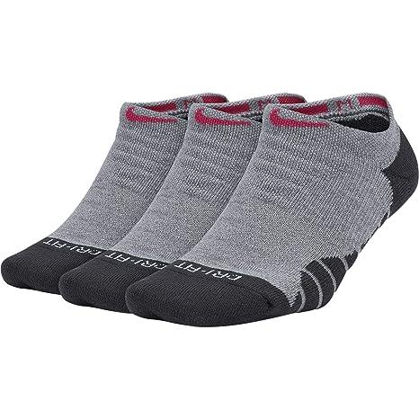 Nike - Calcetines de entrenamiento para mujer con texto Everyday Max ...