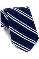 Tommy Hilfiger Men's Textured Stripe Silk Tie, OS