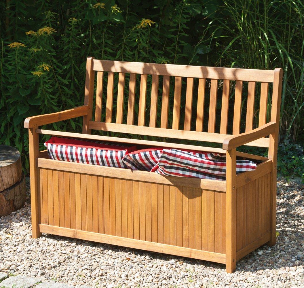 Banco madera exterior sillon de hierro y madera banc for Banco baul exterior