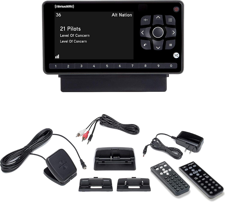 SiriusXM SXEZR1V1 Onyx EZR Satellite Radio with Vehicle Kit + SXDH4 Interoperable Home Kit