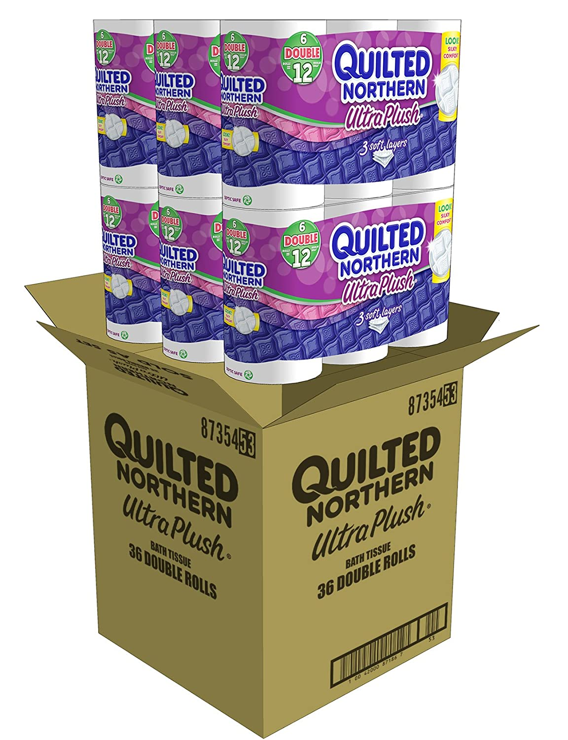Amazon.com: Quilted Northern Ultra Plush Bath Tissue, 36 Double ... : coupons for quilted northern toilet paper - Adamdwight.com