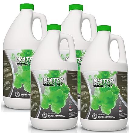 bf0af859155de8 Amazon.com   EcoClean Solutions Green Liquid Sewer Tracing   Leak Detection  Fluorescent