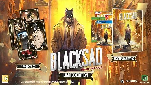 Blacksad: Under The Skin - Limited Edition: Amazon.es: Videojuegos