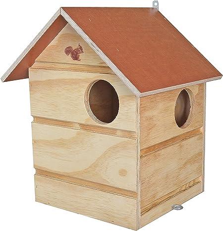 Elmato Freddy 10226 Squirrel House with 3 Entrances