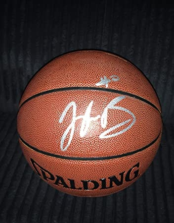 bb37213cc1e Image Unavailable. Image not available for. Color  Jaylen Brown Autographed  Signed Basketball Nba Boston Celtics California Bears Auto ...