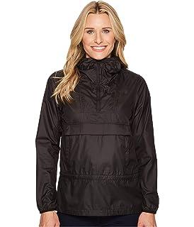 7b491b658 Amazon.com: The North Face Women's Fanorak Rain Jacket, TNF Black ...