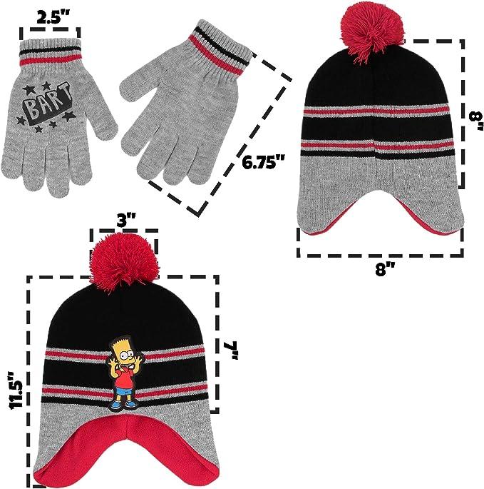Barts Boys Hat Scarf /& Glove Set