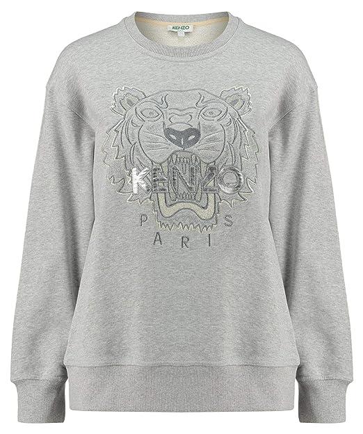 felpa kenzo donna grigio