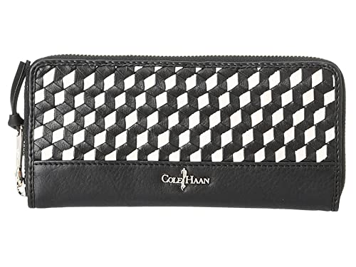 Amazon.com: Cole Haan Parker Weave cartera Continental ...