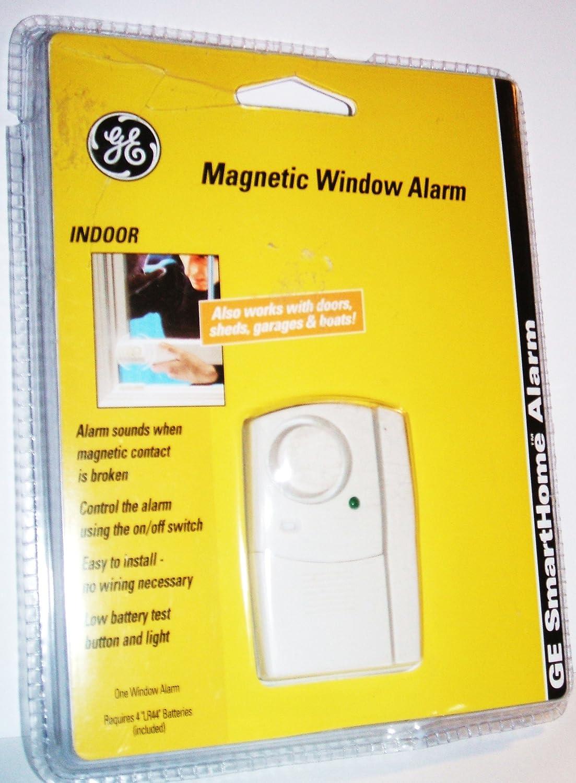 GE SmartHome Alarm Magnetic Window Alarm, Indoor